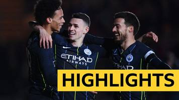 FA Cup: Newport County 1-4 Manchester City highlights