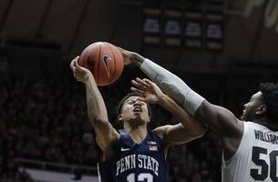 edwards, haarms team up to lead no. 12 purdue past penn st.