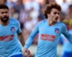 simeone excited by griezmann, costa and morata trident