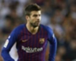 'we must be better on tuesday' - pique urges barca improvement ahead of lyon clash