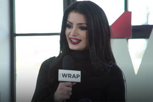 wwe superstar paige on having 'fighting with my family' made about her life at 26: 'it's definitely a surreal moment' (video)