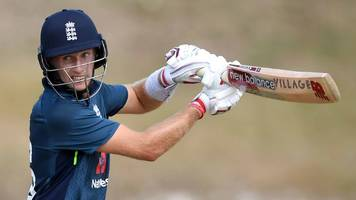 england in west indies: joe root & jason roy hit centuries in warm-up win
