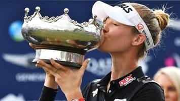 American Nelly Korda wins Women's Australian Open in Adelaide