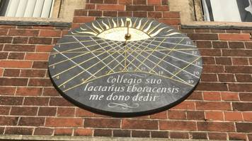 cambridge time expert fears sundials are 'old hat'