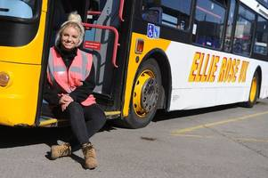 Britain's youngest bus driver Ellie Rose, 18, on how her 'dream' job is going
