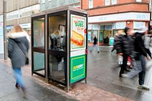 woman with full time job slept in leicester city centre phone box because she couldn't afford rent