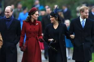 prince william and harry turmoil as pair 'split staff to ease tension' amid meghan and kate middleton rift