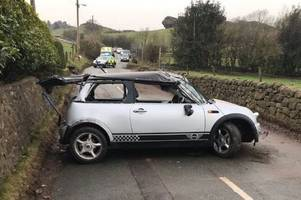 road closed following accident on street