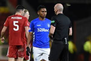 alfredo morelos is to blame for rangers languishing behind celtic and has let steven gerrard down slams chris sutton