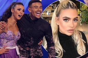 Dancing On Ice: Wes Nelson 'makes savage dig at ex Megan during steamy skate'