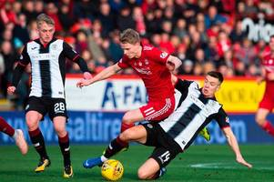 gary mackay-steven criticised as aberdeen fans question his contribution in team