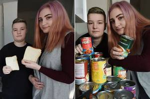 pregnant teen on universal credit faced starvation - then something incredible happened