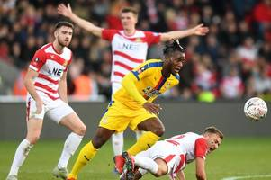 crystal palace legend on why michy batshuayi fluffed his big chance against doncaster rovers