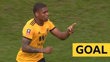 FA Cup: Ivan Cavaleiro strike gives Wolves lead against Bristol City