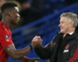 Solskjaer tops Mourinho's Manchester United win total for whole season in just 13 games