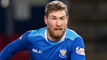 st johnstone: david wotherspoon signs contract extension