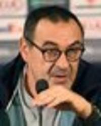 chelsea fans demand maurizio sarri is sacked for two key man utd decisions
