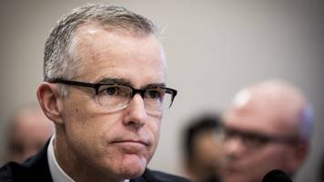 President Trump Lashes Out At McCabe After '60 Minutes' Interview