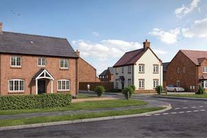 new family homes go on sale in picturesque village near derby