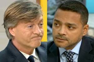 good morning britain's richard madeley outraged as shamima begum lawyer compares her to ww1 veteran