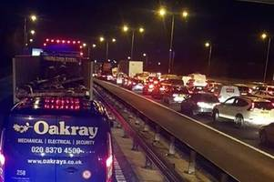 Police update on serious A2 crash which shut coastbound road in Dartford for 5 hours