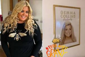 Inside Gemma Collins' flash Essex mansion which she's covered with pictures of herself