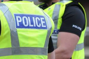 man, 25, rushed to hospital after stabbing in dumbarton