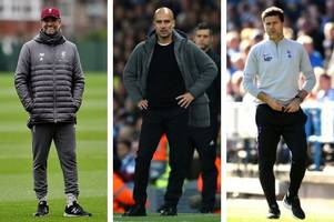 the latest odds on tottenham pipping manchester city and liverpool to the premier league title