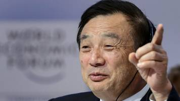 the us cannot crush us, says huawei founder