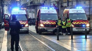 Marseille knife attacker shot dead by French police