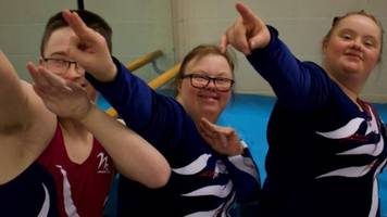 middlesbrough gymnasts at special olympics world games