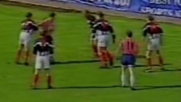 ross county v inverness caledonian thistle: the first highland derby in 1994