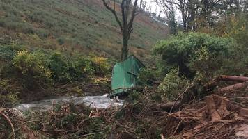 plan to partially reopen cwmduad a484 in march