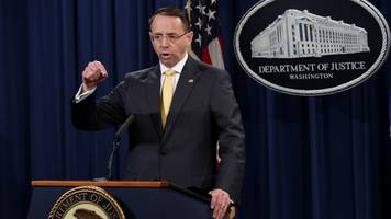 rod rosenstein will reportedly step down in mid-march