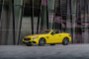 mercedes-benz slc final edition and sl grand edition to be droptop swan songs?