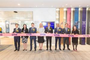 otis hong kong unveils experience and innovation center -- creates a new platform in asia pacific
