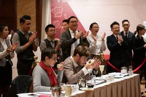 the hilton f&b masters 2019 got off to a great start -- conrad hong kong selected representatives to compete in regional finals