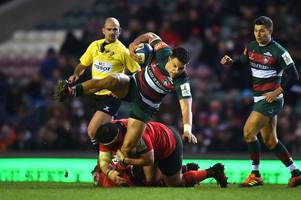leicester tigers' senior men have to lead the way forward in the premiership, says matt toomua