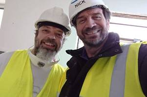 Nick Knowles came to Exeter - and he absolutely loved it