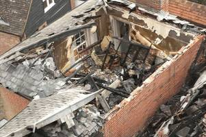 arsonist convicted for causing more than £1.7m damage to 700-year-old newport property