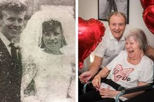 waltham abbey couples with a combined total of almost 300 years' of marriage reveal their secret to a happy relationship