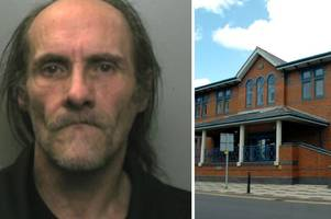 monkey dust dealer who had £1,300 worth of the drug and three knives is jailed