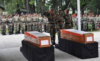 'country will forever be indebted to soldiers' families': pm modi
