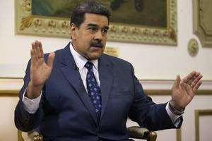 nicolas maduro attacks trump's 'almost nazi-style' speech after us president calls on military to abandon ...