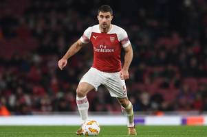 ramsey, ozil, sokratis, lacazette - arsenal team news and expected xi vs bate borisov