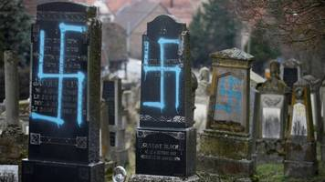 jewish graves desecrated near strasbourg in eastern france