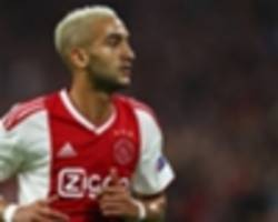 African All Stars Transfer News & Rumours: Chelsea monitor Ajax star Hakim Ziyech