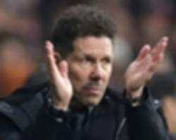 'we have a lot of balls!' - simeone explains bizarre celebration in atletico win