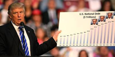 the us national debt just pushed past $22 trillion — here's how trump's $2 trillion in debt compares with obama, bush, and clinton
