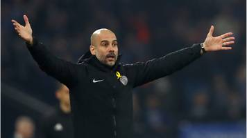 manchester city boss pep guardiola 'a big fan of var' after win at schalke